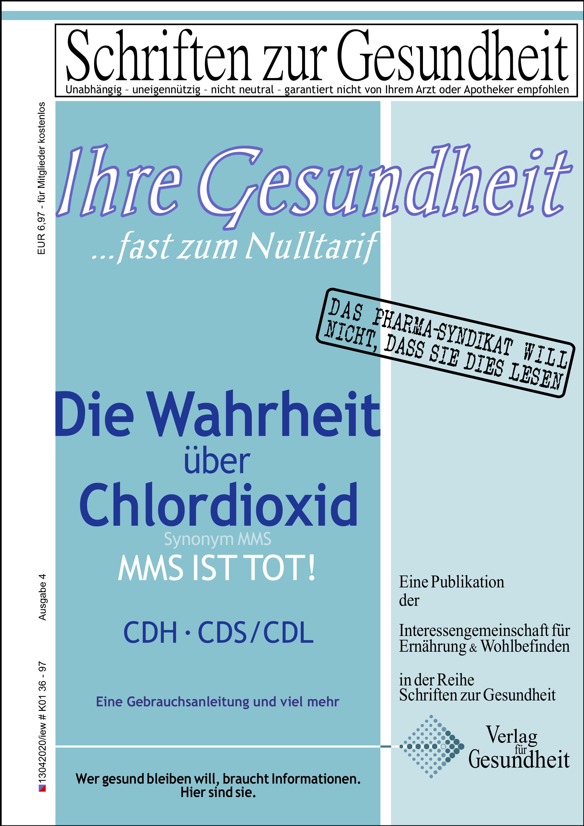 Ratgeber Chlordioxid - April 2020